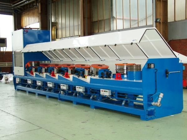 15kw Straight Line Wire Drawing Machine For Low Carbon Steel Wire OEM Support
